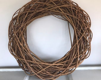 70cm willow wreath, statement wreath, wall wreath. Easter wreath, home wall decor. extra large wreath.