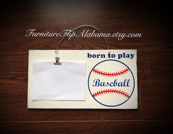 Baseball Frame Photo Holder Baseball Frame Baseball Lover Gift Etsy