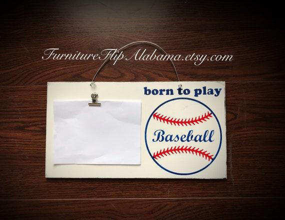 Baseball Frame Photo Holder Baseball Frame Baseball Lover Gift Etsy