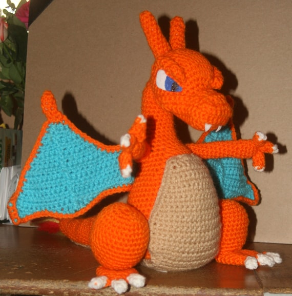 Mega Charizard Crochet Patterns Ideas Free (med bilder) | Prosjekter | 577x570