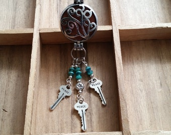 Decorative Keys Fragrance Holder