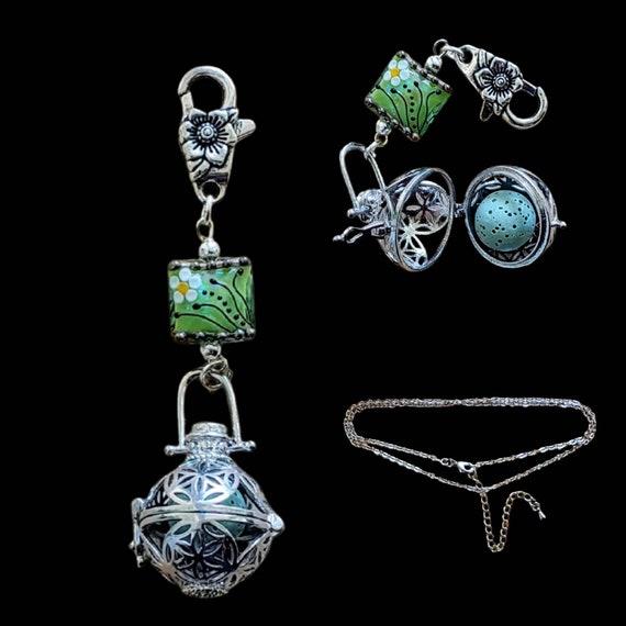 Mint Green Diffuser Jewelry