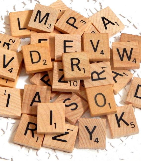 3 Complete Sets Wood Pieces Scrabble Letters ❤ 300 Scrabble Tiles For ❤