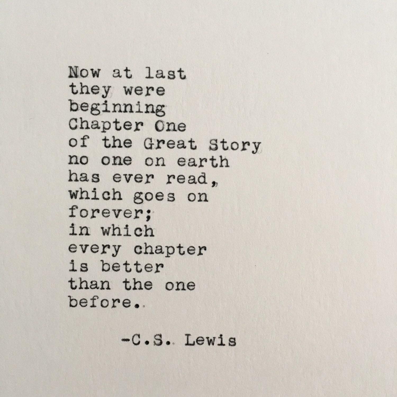 CS Lewis-Liebe-Zitat Chroniken von Narnia eingegeben auf | Etsy