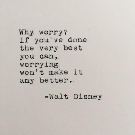 Citation De Walt Disney Tapée Sur Machine à écrire