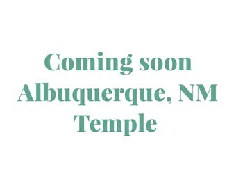 Embroidered Albuquerque New Mexico Temple