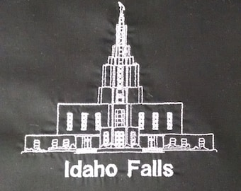 Embroidered Idaho Falls Temple