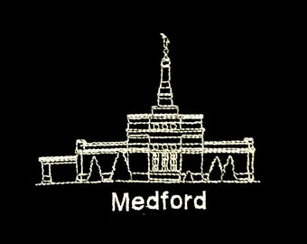 Embroidered Medford Oregon Temple
