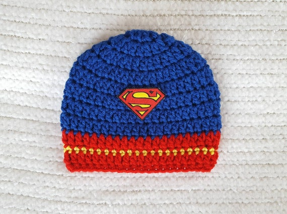 4005a480a54 Superman baby hat superman hat baby boy gift super hero