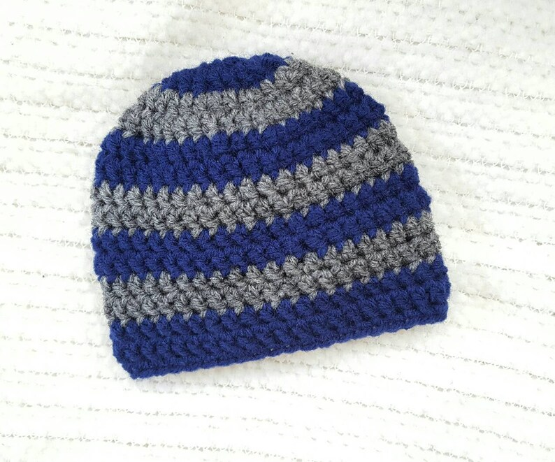 1fa0b8592d093 Baby boy gift striped baby hat crochet hat baby hats for