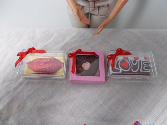 Tyler Momoko 1:6 scale Boxed Christmas chocolate  for Barbie Fashion Royalty Ginny Poppy Parker Blythe Phicen