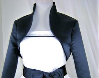 Bolero, Short Jacket, Bolero Jacket, Jacket, Women's Jacket, Bolero with Stand-Up Collar