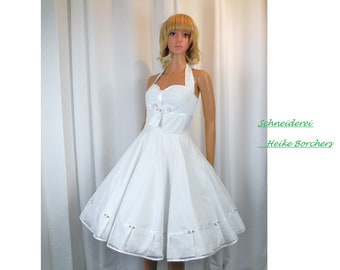Red Pin Up Wedding Dresses