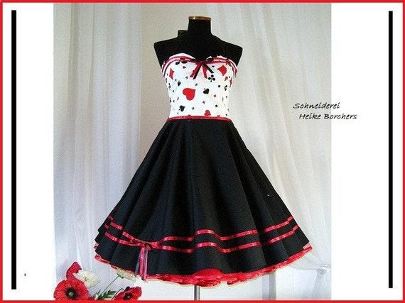 Black Petticoat 50s Custom made
