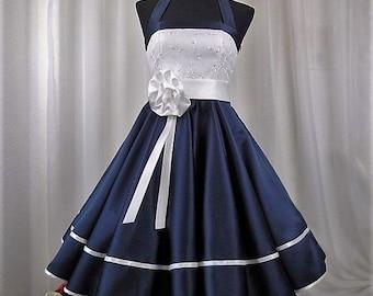 Bridalgown 50s ,Weddingdress,Rockabilly,Petticoatdress