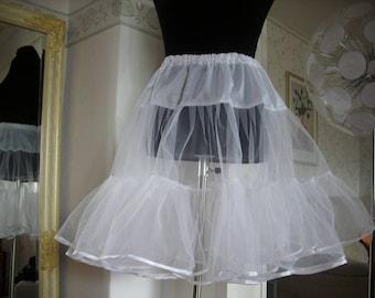 Petticoat 1 layer - light petticoat, petticoat undercoat, under skirt, tulle skirt, tulle petticoat