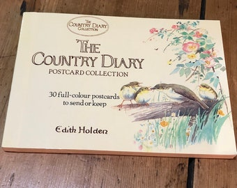 Book of Thirty Country Diary of and Edwardian Lady Postcards