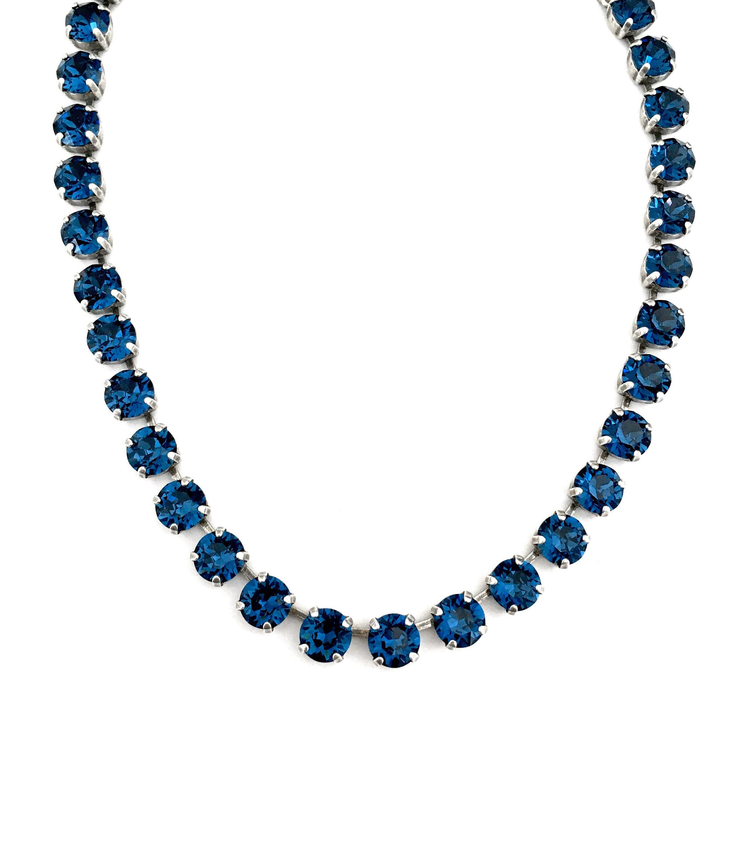 MONTANA BLUE • Swarovski Crystal Necklace