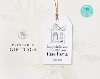 Handmade New Home Gift Tag