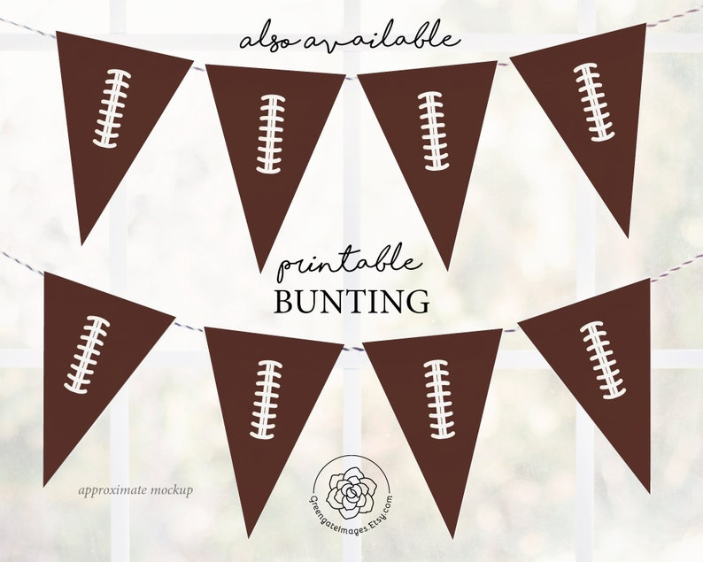 Football Buffet Cards Food Labels Super Bowl Printables Buffet Food Sign PDF Instant Download Football Buffet Sign Tented Cards