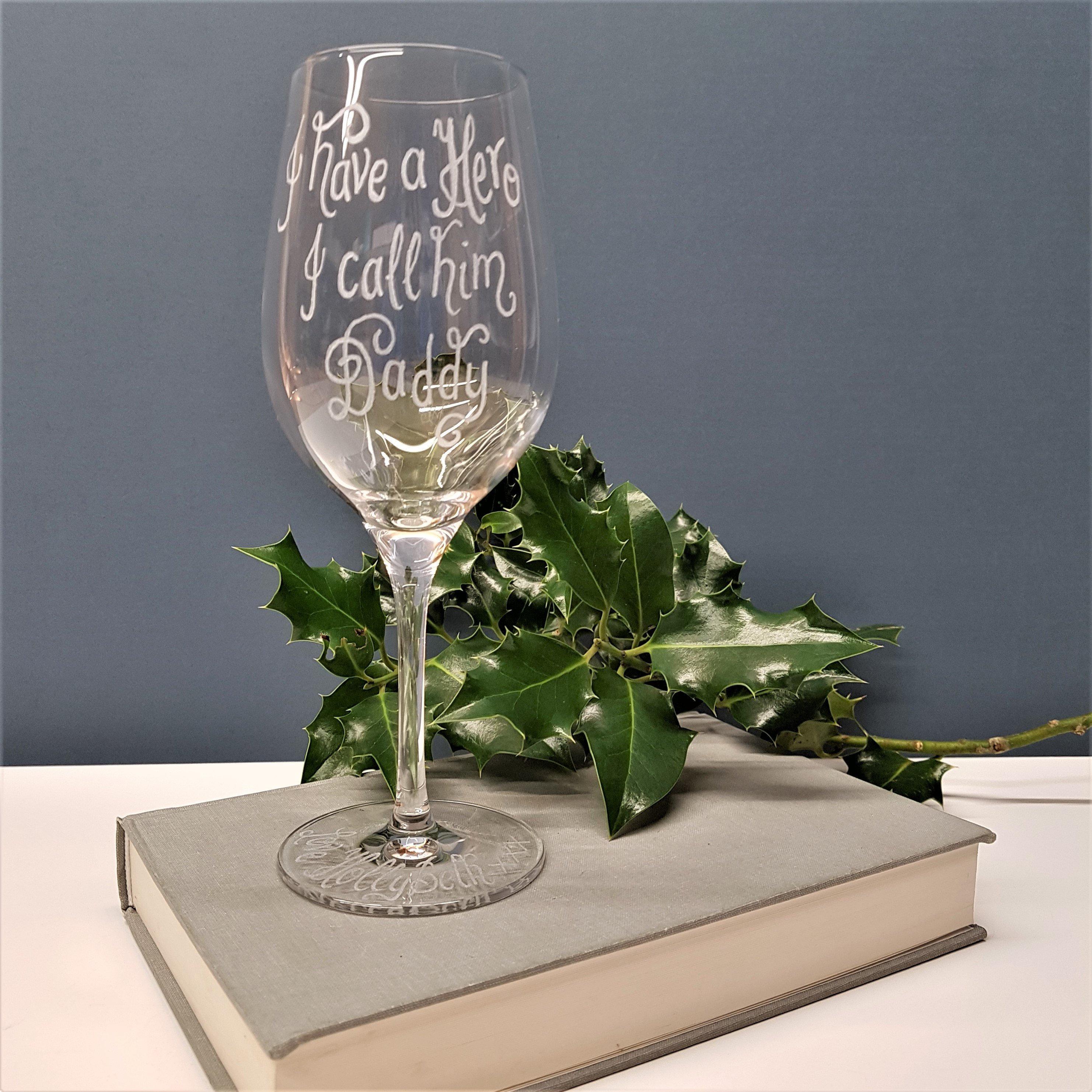 Personalised Wine Glass Custom Gift Idea Birthday Gift Wedding Gift Idea Best Friend Gift BFF Hen Night Bride To Be Bridesmaid & Personalised Wine Glass Custom Gift Idea Birthday Gift Wedding ...