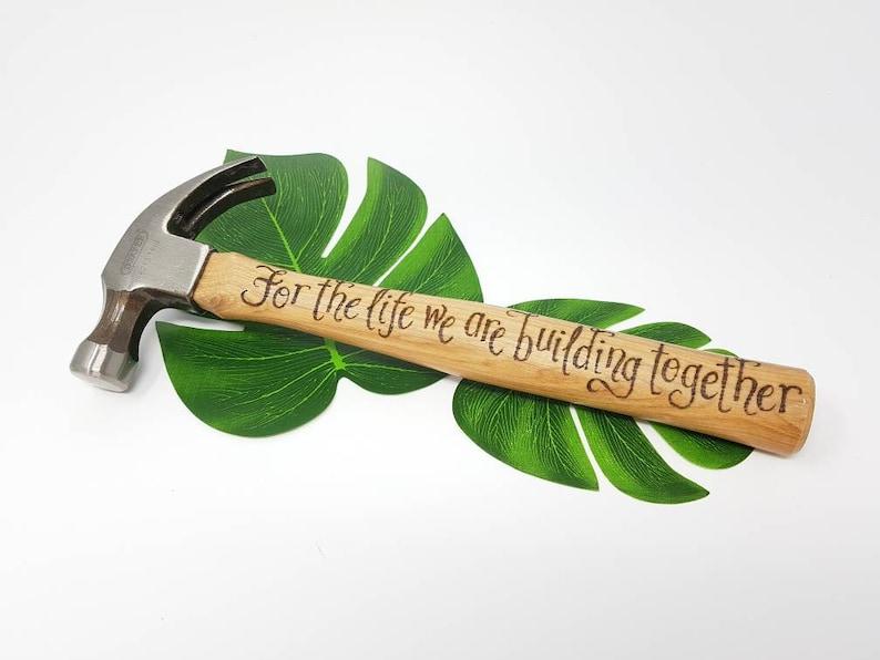 Boyfriend Birthday Gift Personalized Hammer Gift Husband Anniversary Custom Hammer Gifts for Men Engraved Hammer Personalized Hammer