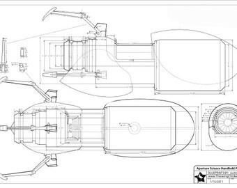 Iron man arc reactor mark 1 blueprint digital download etsy ashpd blueprint digital download malvernweather Choice Image