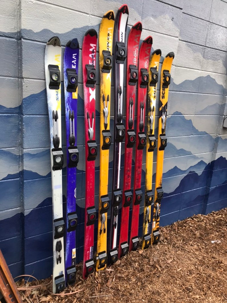 Salomon X scream original downhill ski Genuine Ski with Universal Shot Glass mounts, Shot Serving Tray