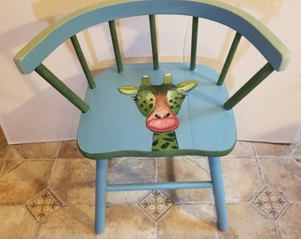 Kids Jungle Chair Giraffe