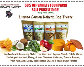 Holistic Gluten Free Vartiety 4 Pack