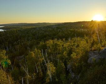Minnesota Photography, Landscape Nature Photography, Lake Superior Sunset, North Shore Art