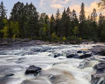 Minnesota Photography, Gooseberry River, Landscape Nature Photography, Lake Superior, North Shore Art