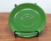 Vintage Fiesta Ware Sage Green Tea Saucer - Made by Homer Laughlin