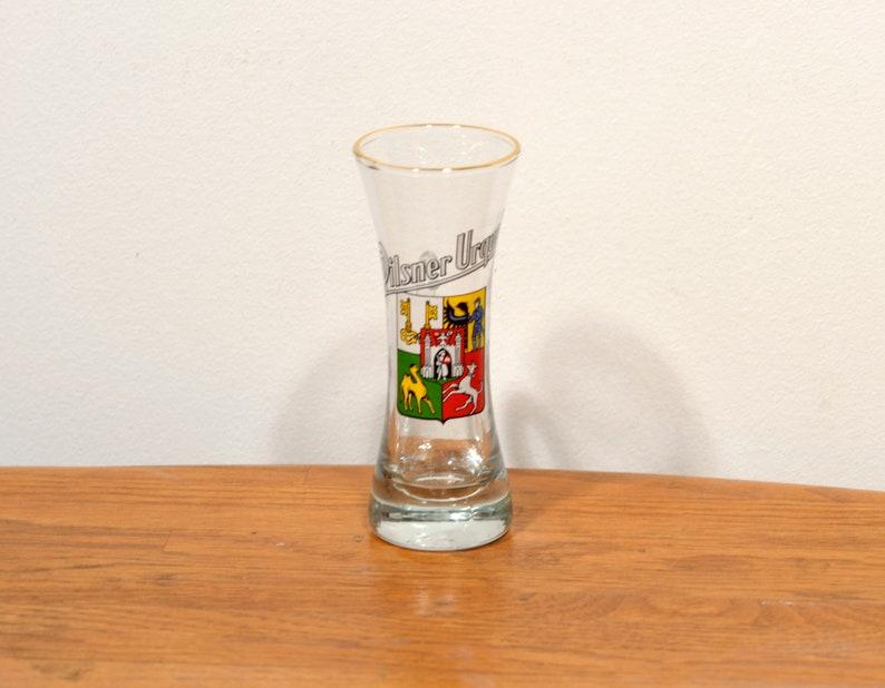 Vintage Pilsner Urquell Crest Design Beer Sampling Shot Glass