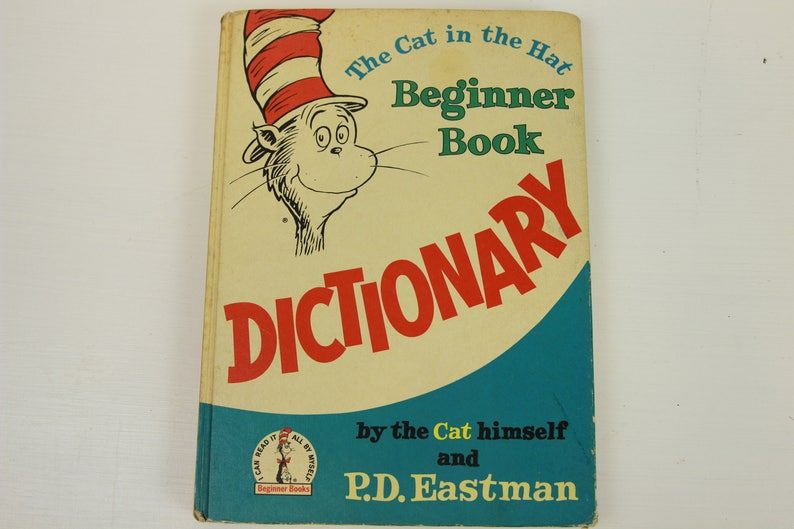 ef7a7b4cb46 The Cat in the Hat Beginner Book Dictionary Dr. Seuss by