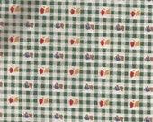 Green Tiny Check Bonnet Boy Girl Print Cotton Fabric Marcus Brothers Textiles 1 yard
