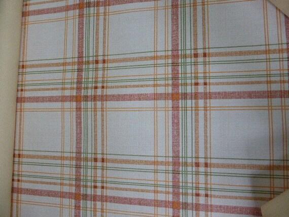 Rouleau de PAPIER PEINT vintage 1970, Cuisine, esprit torchon torchon torchon a carreaux, wallpaper f16a40