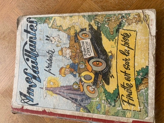 Vintage 1953 comic book collection, Ames Vaillantes number 15, collector