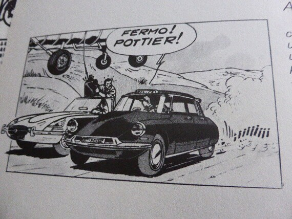 BOOK COMICAR Claudio Bertieri vintage 1975 FIAT, Comics State of use: Very good condition