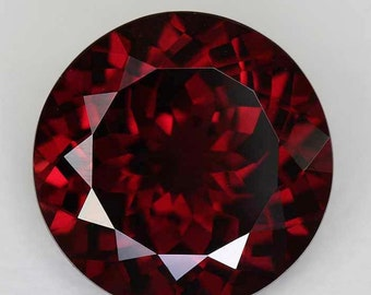 1 pieces 9mm RED GARNET Faceted Round Loose Gemstone, Red garnet Round Faceted Gemstone, Red Garnet Faceted Round