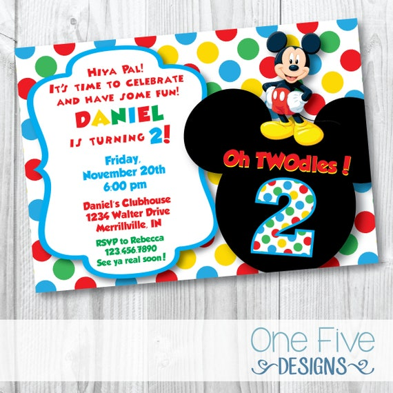 fresh twodles birthday invitation for 63 oh twodles birthday party ideas