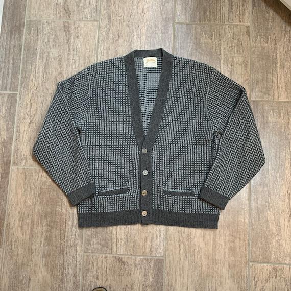 Vintage 50s Jantzen Long Sleeve Cardigan Sweater,