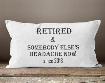 Retirement Gifts For Women, Retirement Gift, Women Retirement Gifts, Retirement Gifts For Coworkers,Retired and Somebody Else's Headache Now