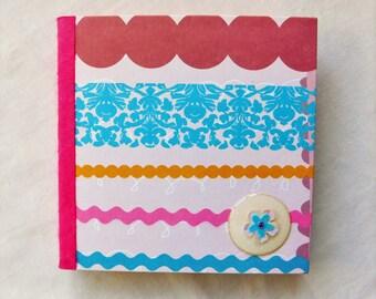 Journal notebook, Student planner, Bullet journal, Teen girl gift, sketchbook, Travel journal, Blank book, Birthday friend her, Gift for her