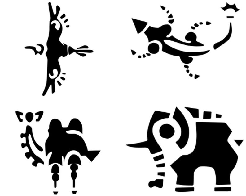 Breath of the Wild Divine Beasts Decals image 0