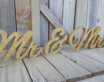 Mr & Mrs Sign, Mr and Mrs,  freestanding,home decor, wedding decor, office decor,master bedroom decor,wooden letters