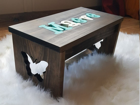 Awe Inspiring Personalized Puzzle Name Step Stool Pdpeps Interior Chair Design Pdpepsorg