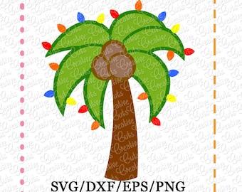 Christmas Palm Tree Etsy
