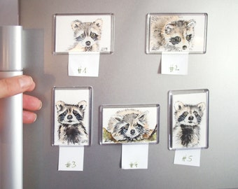magnets handpainted