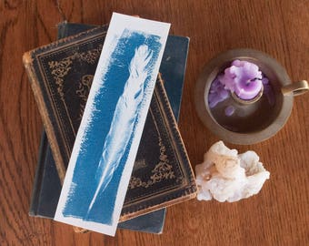 Feather Bookmark IV